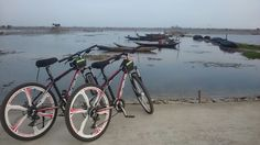 Daily cycling tour dam chuon lagoon hue where is a home stay Village that is under CBET project by Luxumburg and DPI Hue. www.huecuata.com was assigned to be an exclusive investor and manage the project from Dec 2016