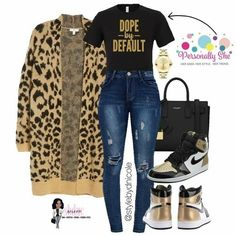 Fashion Brand Spotlight✨ ____________________________ is serving up personality, swagger, and comfort with their signature… Swag Outfits, Classy Outfits, Stylish Outfits, Fall Outfits, Fashion Outfits, Womens Fashion, Fashion Pants, Plus Size Winter Outfits, Cute Fashion