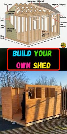 shed plans! Start building amazing sheds the easier way, with a collection of shed plans!