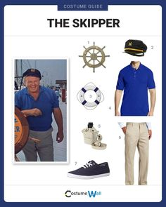 Board the S. Minnow dress like The Skipper, known as Jonas Grumby from the hit CBS TV show Gilligan's Island. Group Halloween Costumes, Group Costumes, Halloween Party, Island Theme Parties, Cbs Tv Shows, Twin Baby Boys, Pontoon Boat, Costume Contest, Best Cosplay