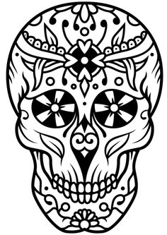 Skull Coloring Pages, Coloring Sheets, Adult Coloring, Coloring Books, Finger Tattoo For Women, Finger Tattoos, Mindfulness Colouring, Bleach Art, Tattoo Design Drawings