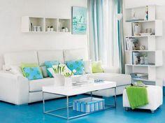 Salas Pequeñas en Departamentos | Ideas para decorar, diseñar y mejorar tu casa.