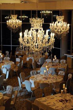 Evening reception with stunning chandeliers at Ashton Gardens Atlanta. Wedding Pics, Gold Wedding, Wedding Venues, Dream Wedding, Wedding Ideas, Ashton Gardens Houston, Gold Chandelier, Chandeliers, Ballrooms