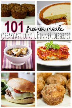 101 Freezer Meals @savedbyloves