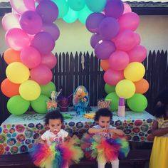 Bubble guppies birthday party - my twins 2nd birthday