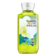 Signature Collection Tahiti Island Dream Shower Gel - Bath And Body Works Body Works, It Works, Tahiti Islands, Perfume Body Spray, Dream Shower, Dream Bath, Body Cleanser, Bath And Bodyworks, Body Lotions