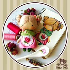 Ma Petite Poupee - Tea Rose (for example, для примера) h=11cm