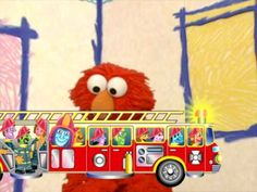 elmo counts firefighters - YouTube