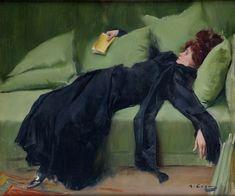 Jove Decadente 1899 by Ramon Casas