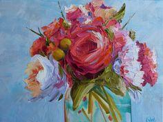Kay Wyne Fine Art Blog: Tickled Pink