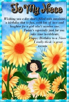 A sweet card for a niece you think is great. Free online To A Great Niece ecards on Birthday Happy Birthday Niece, Birthday Hug, Birthday Wishes Funny, Birthday Songs, Happy Birthday Banners, It's Your Birthday, Animated Birthday Cards, Beautiful Birthday Cards, Happy Panda