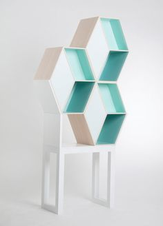 I dream, create and admire - mnml-style: 'Cubious' bookshelf by Kristina...