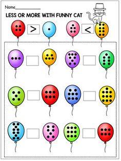 Seuss Birthday - Reading Passages and Math Activities - Kindergarten Math Worksheets, Preschool Learning, Preschool Activities, Teaching Kids, Maths, Math Drills, Alphabet For Kids, Math Facts, First Grade Math