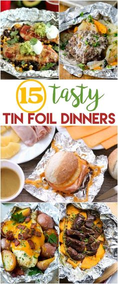 No cook camping food foil packets 66 Ideas No camping dishes made of aluminum foil to cook 66 Ideas Tin Foil Dinners, Foil Packet Dinners, Foil Pack Meals, Foil Packets, Hobo Dinners, Camping And Hiking, Camping Meals, Outdoor Camping, Camping Dishes