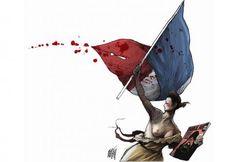 MOBILISATION contre le terrorisme• Paris, centre du monde