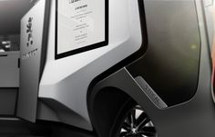 The Peugeot Foodtruck concept is an automobile, which, once parked, becomes a food truck unlike any other.