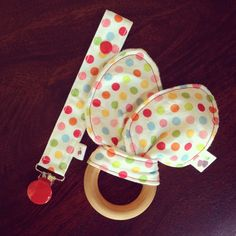 Coming soon! Matching #pacifierclip and #sensory #teether