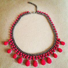 new #zara fluo necklace :)