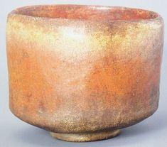 7、「夕暮」 五島美術館蔵  名のとおり茶碗の景が夕暮れを想起させるような美しいものになっています。全体的に貫入(ひび割れ)が入っており、見ごたえがあるでしょう。