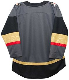 516041a7bb797 OuterStuff Vegas Golden Knights Youth Premier Home Jersey (youth s m 12-14)