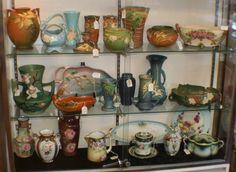 Roseville Pottery from Zanesville Ohio