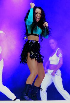 Leigh-Anne Pinnock performing at Capital Summertime Ball