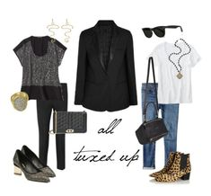 The Versatile Tuxedo Jacket - http://unefemme.net/2014/12/tux-luxe.html  #style #jacket #partydressing