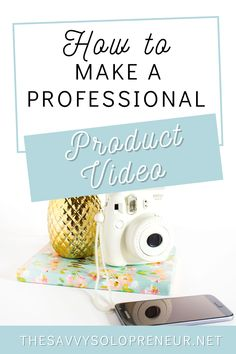 Make a professional product promo video in 5 easy steps, to post on your website, blog, Instagram stories or anywhere else! #ContentMarketing #DigitalMarketing #OnlineMarketing #ProductVideos #OnlineBusiness