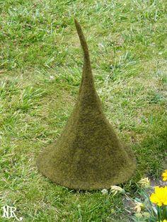 Tuto : Comment feutrer un chapeau de lutin - How to felt a gnome hat