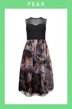 3 Perfect Party Dresses For Your Body Type #refinery29  http://www.refinery29.com/flattering-party-dresses#slide10