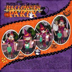 Halloween Minnie - MouseScrappers - Disney Scrapbooking Gallery
