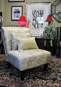Slipper Chair $129.00. - Consign It! Consignment Furniture