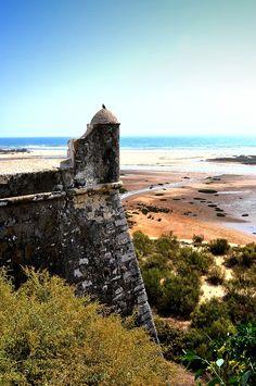 Fortaleza, Ria Formosa, Portugal #Portugal