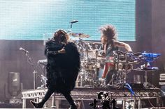 Jared and Shannon - Rock In Rio - 14 September 2013