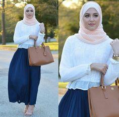 ..Simple Hijabi Outfit Idea.. {Blog: WithLoveLeena}