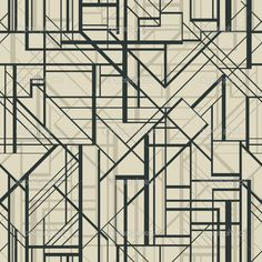 Art deco style vector geometric pattern. — Stock Vector © mazeina ...