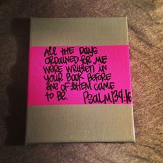 psalm 13916 painting by gloriouslyruined on Etsy