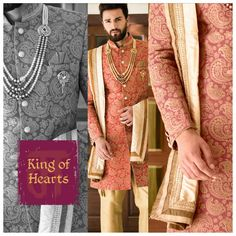 An exquisite interplay of sober and passionate colors crafted to win over hearts #indianwear #manishcreations #heritagefashion #passionatecolors