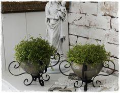 Zwei Uralte Schalen aus Frankreich von ShabbyMaison auf DaWanda.com