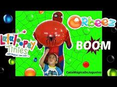 El Hombre Araña Ayuda a EXPLOTAR el Globo Lleno de ORBEEZ y Lalaloopsies...