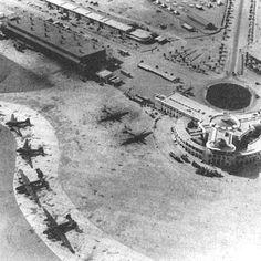 Karachi Airport in 1943 during the World War II. #Karachi #Pakistan
