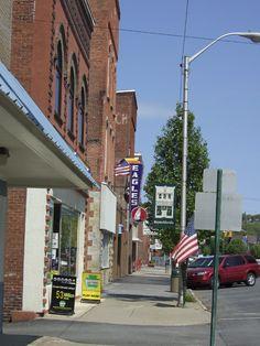 Reynoldsville, PA : Reynoldsville, PA main street