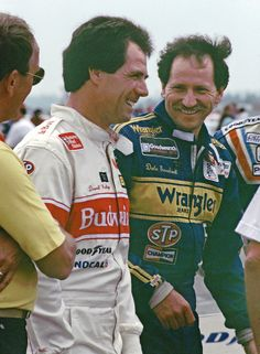 Waltrip  - Earnhardt....D.W. made me cry when he congratulated Jr. in his Daytona 500 win!  Please retire the #3 car.  No one will ever be the Intimidator.