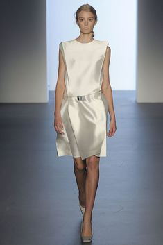 Calvin Klein Collection Spring 2009 Ready-to-Wear Fashion Show - Sigrid Agren