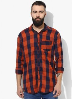 Buy Checked Brush Twill Casual Shirt Online at Low prices in India on Winsant  #shirts #casualshirt #mensfashion #fashionblogger #fashion #style #winsant #pinterestmarketing #pinterest Formal Shirts For Men, Online Shopping Websites, Trouser Jeans, Lingerie Set, Workout Shirts, Outfit Sets, Tee Shirts, Short Sleeves, Men Casual