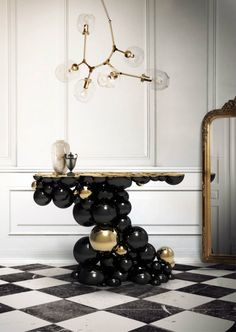 7 best modern console tables to have in your living room furniture: Boca De Lobo
