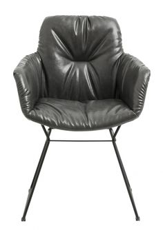 DARKY chair, grey col. | Nordal.eu