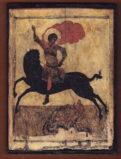 An essay about the British Museum collection of Orthodox Russian icons Byzantine Icons, Byzantine Art, Religious Icons, Religious Art, British Museum, Chrysler Museum, Saint George And The Dragon, Russian Icons, Russian Art