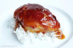 Hmmmm. Wie das duftet und schmeckt. Eins meiner Lieblingsrezepte aus dem amerikanischem Raum :) Das Hähnchenbrustfilet wird im Ofen gebacken und mit einer Soße, die so schön karamellisiert … …