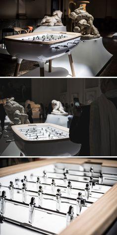 Alain Gilles Has Designed A Sleek New Foosball Table
